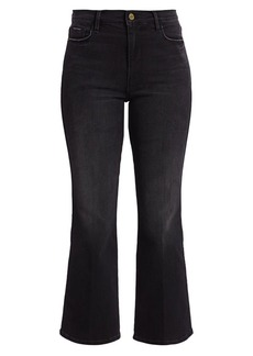 FRAME Le Sylvie Mid-Rise Crop Kick Flare Jeans
