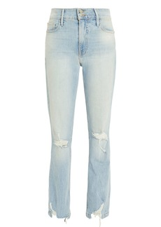 FRAME Le Sylvie Distressed Jeans
