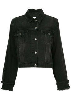 FRAME tie sleeve denim jacket