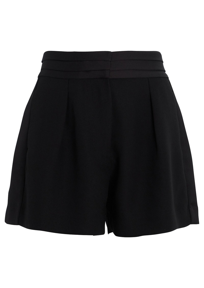 FRAME Tux High-Rise Shorts