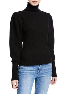 FRAME Voluminous Princess-Sleeve Sweater