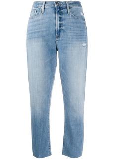 FRAME Walden Rock cropped jeans