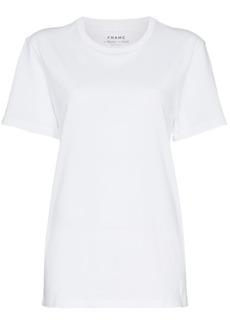 FRAME white men's short sleeve linen t shirt