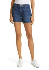 Women's Frame Le Grand Garcon High Waist Denim Shorts