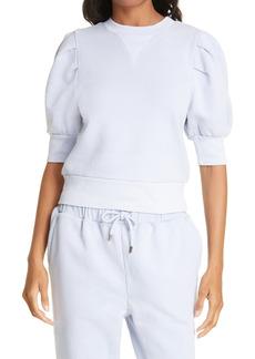 Women's Frame Puff Sleeve Sweatshirt
