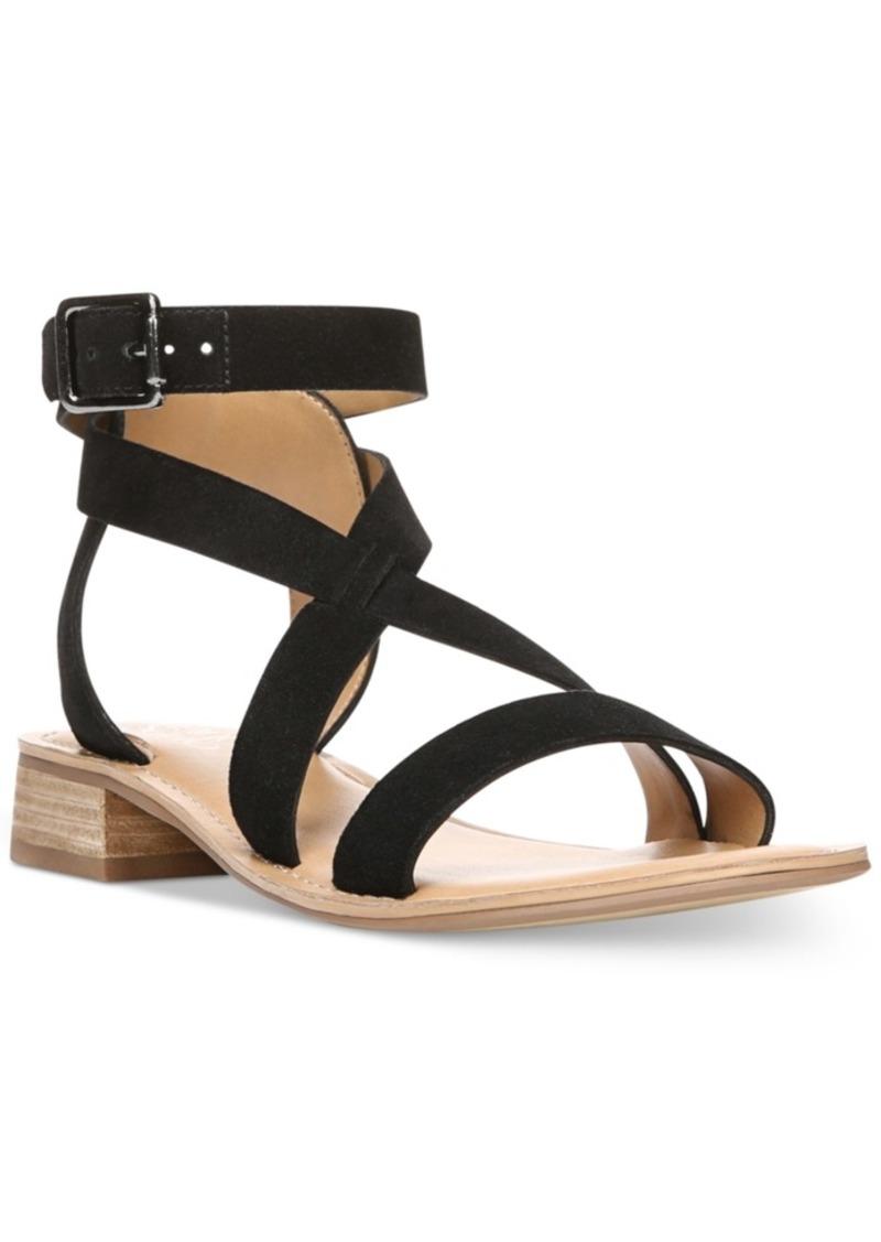 a4a0bc993ea5 Franco Sarto Franco Sarto Alora Flat Strappy Sandals Women s Shoes ...