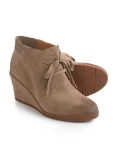 Franco Sarto Austine Ankle Boots - Suede, Wedge Heel (For Women)
