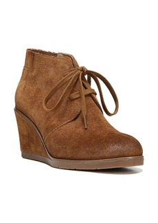 Franco Sarto 'Austine' Lace Up Wedge Bootie (Women)