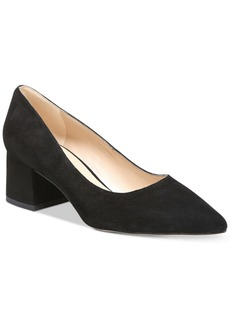 Franco Sarto Callan Block-Heel Pumps Women's Shoes