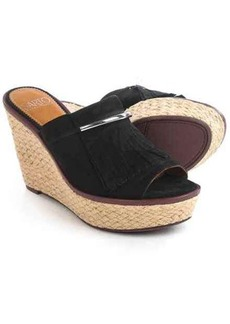 Franco Sarto Candace Sandals - Nubuck, Wedge Heel (For Women)