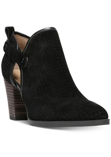 Franco Sarto Dakota Perforated Ankle Booties Women's Shoes