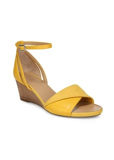 Franco Sarto Deirdra Leather Wedge Sandals