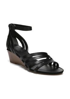 Franco Sarto Della Ankle Strap Wedge Sandal (Women)