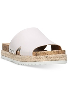 Franco Sarto Elina Flat Espadrille Slip-On Sandals Women's Shoes