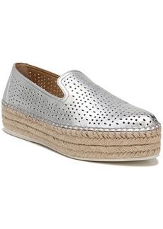 Franco Sarto Elliot Perforated Flatform Espadrilles Women's Shoes