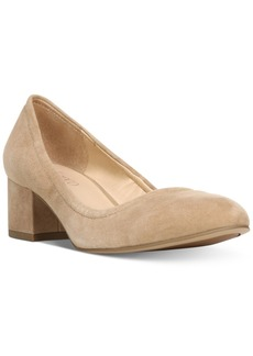 Franco Sarto Fausta Block-Heel Pumps Women's Shoes