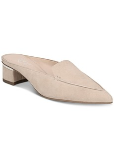 Franco Sarto Genesse Block-Heel Pointed-Toe Mules Women's Shoes