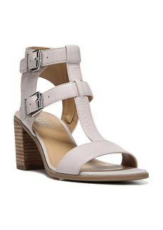 Franco Sarto Hasina Leather T-Strap Sandals