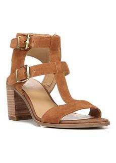 Franco Sarto Hasina Suede T-Strap Sandals