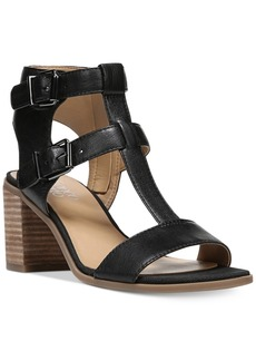 Franco Sarto Hasnia Strappy Block Heel Sandals Women's Shoes