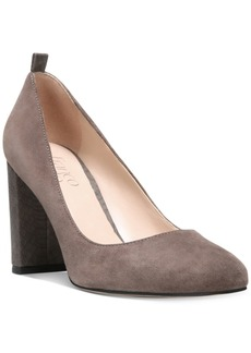 Franco Sarto Ingall Block-Heel Pumps Women's Shoes