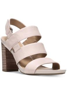 Franco Sarto Jena Block-Heel Sandals Women's Shoes