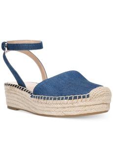 Franco Sarto Lariza Ankle-Strap Flat Espadrilles Women's Shoes
