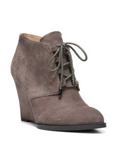 Franco Sarto 'Lennon' Lace Up Wedge Bootie (Women)