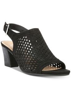 Franco Sarto Monaco Perforated Dress Sandals Women's Shoes