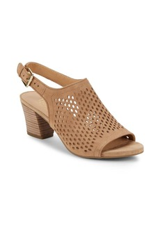 Franco Sarto Monaco Perforated Slingback Sandals