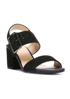 Franco Sarto Morgan Ankle-Buckle Leather Sandals