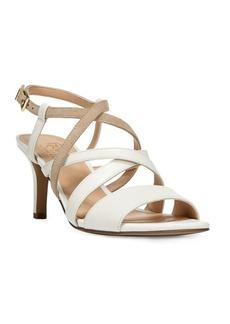 Franco Sarto Olian Leather Slingback Sandals