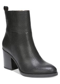 Franco Sarto Owens Block-Heel Booties Women's Shoes