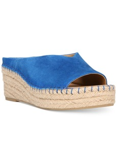 Franco Sarto Pine Slip-On Espadrille Wedge Sandals Women's Shoes