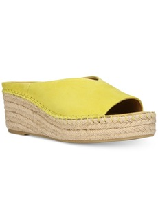 Franco Sarto Pine Slip-On Espadrille Wedge Mules Women's Shoes