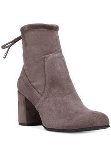 Franco Sarto Pisces Back-Tie Booties Women's Shoes