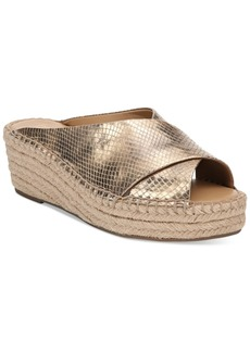 Franco Sarto Polina Espadrille Platform Wedge Sandals, Created for Macy's Women's Shoes