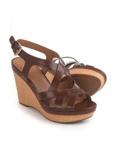 Franco Sarto Sashay Wedge Sandals - Vegan Leather (For Women)
