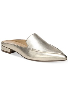 Franco Sarto Sela Pointed Toe Slip-On Loafer Mules Women's Shoes