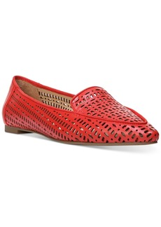 Franco Sarto Soho Perforated Pointed Toe Flats Women's Shoes