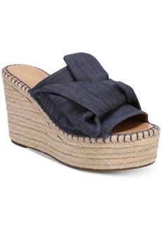 Franco Sarto Talinda 2 Platform Espadrille Wedge Sandals Women's Shoes