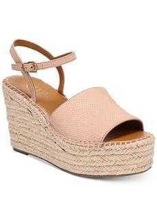 Franco Sarto Tula Platform Espadrille Wedge Sandals Women's Shoes