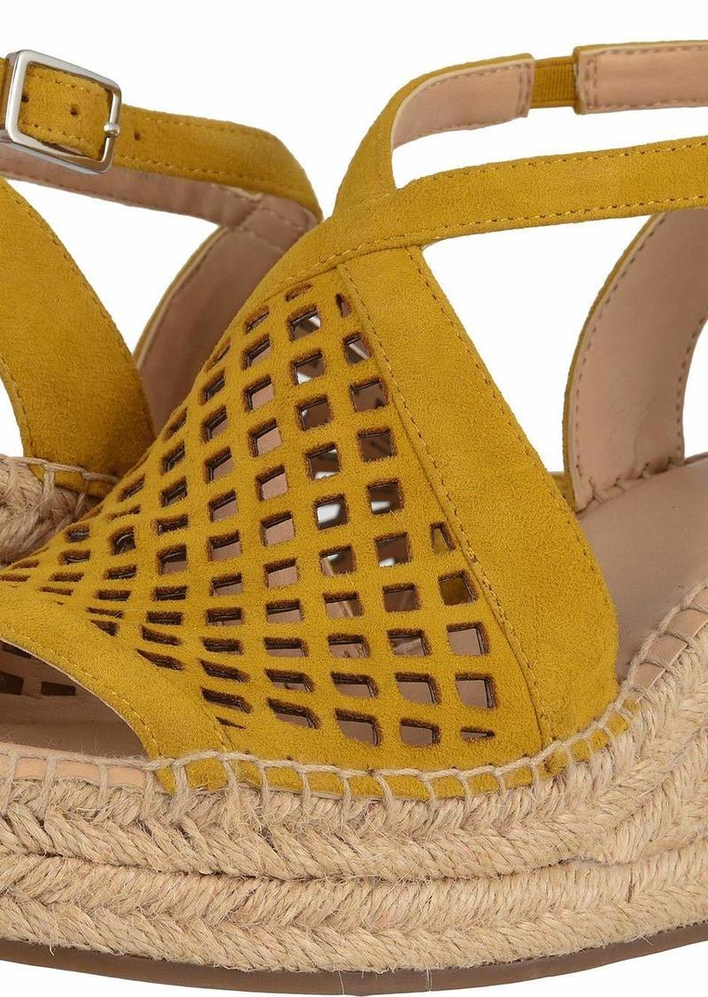 Franco Sarto Women's Celestial Espadrille Wedge Sandal   M US
