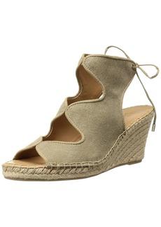 Franco Sarto Women's Nash Espadrille Wedge Sandal  8.5 Medium US