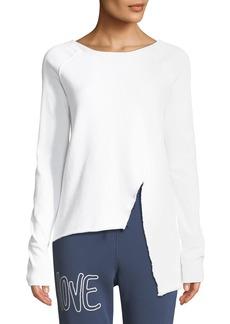 Frank & Eileen Asymmetric Cotton Sweatshirt