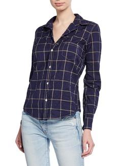 Frank & Eileen Barry Grid Long-Sleeve Button-Down Shirt