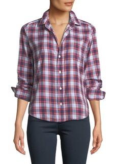 Frank & Eileen Barry Long-Sleeve Plaid Button-Front Shirt
