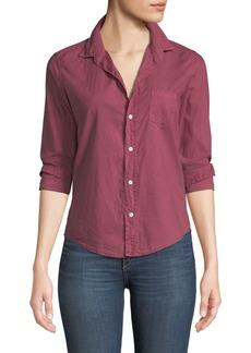 Frank & Eileen Barry Long-Sleeve Poplin Button-Front Shirt