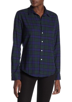 Frank & Eileen Barry Plaid Long Sleeve Shirt