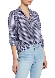 Frank & Eileen Checkered Button-Down Long-Sleeve Cotton Shirt